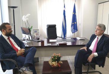 Εποικοδομητική συνάντηση του Αμερικανού  Πρέσβη με τον Νεκτάριο Φαρμάκη (video)
