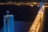 Απολογισμός και νέο λογότυπο για τη Γέφυρα Ρίου – Αντιρρίου- Στα 15 χρόνια  έγιναν 61 εκατομμύρια διελεύσεις!