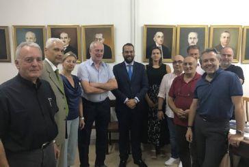 Στη συνεδρίαση του ΣΕΒΠΕΔΕ ο Ν. Φαρμάκης