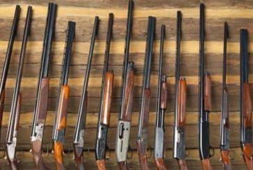 Παρατείνονται οι άδειες κυνηγετικών όπλων