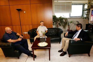Παναιτωλικός: Θετικό κλίμα στη συνάντηση Αυγενάκη με Κωστούλα-Μπελεβώνη
