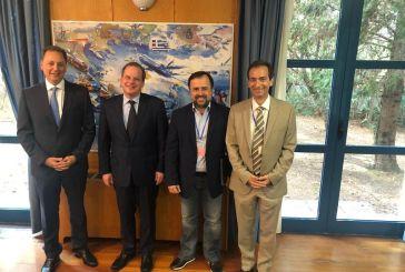 Κρίσιμα ζητήματα της Αιτωλοακαρνανίας στη συνάντηση Λιβανού με τον Υπουργό Υποδομών και Μεταφορών