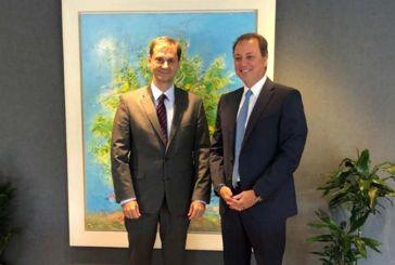 Κρίσιμα θέματα της Αιτωλοακαρνανίας στη συνάντηση Λιβανού με τον Υπουργό Τουρισμού