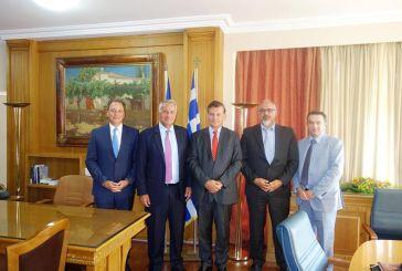 Συνάντηση Λιβανού με τον υπουργό Αγροτικής Ανάπτυξης Μ.Βορίδη