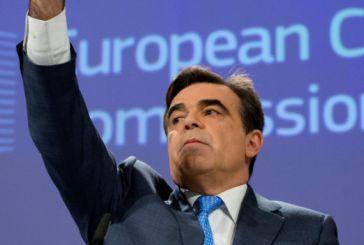 Αντιπρόεδρος της Κομισιόν ο Μαργαρίτης Σχοινάς – Θα έχει υπό την εποπτεία του 4 επιτρόπους