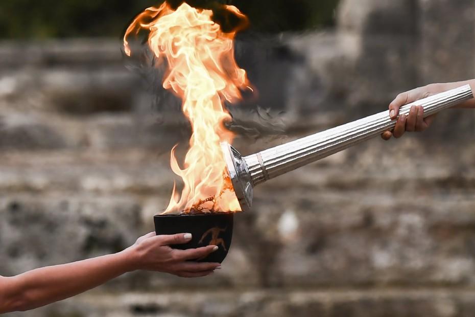 """Ο κορωνοϊός """"χτυπά"""" και την Τελετή Αφής της Ολυμπιακής Φλόγας"""