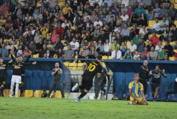 Τελικό: Παναιτωλικός – ΑΕΚ 0-1