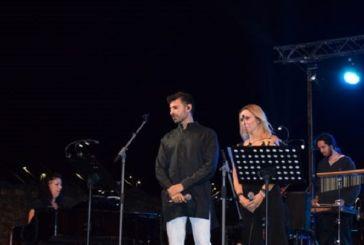 Μάγεψαν το κοινό στο Αντίρριο Πέγκυ Ζήνα και Π. Πετράκης με την ορχήστρα Μίκη Θεοδωράκη (φωτο)