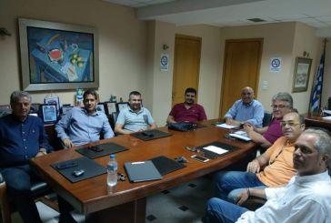 Συνάντηση του Δημάρχου Ναυπακτίας με την Ομοσπονδία Επαγγελματοβιοτεχνών