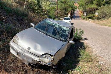 Άγιος Νικόλαος Αγρινίου: Τούμπαρε αυτοκίνητο – τραυματίστηκαν μητέρα και κόρη