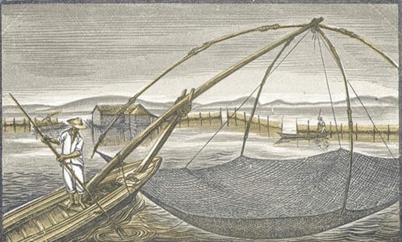 "Yποψήφια για την ""Άυλη Πολιτιστική Κληρονομιά"" η παραδοσιακή αλιεία της λιμνοθάλασσας"