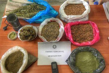 Χασίς και λαθραίο καπνό βρήκαν οι αστυνομικοί μετά από έφοδο σε σπίτι σε χωριό του Μεσολογγίου