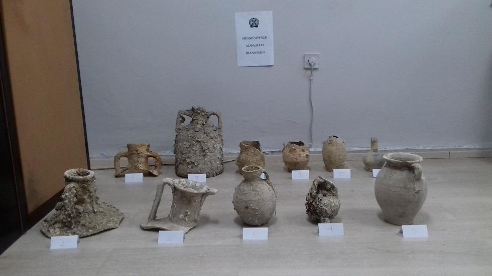 Δυο συλλήψεις στην Πρέβεζα για αρχαιοκαπηλία