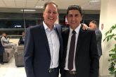 Για δύο θετικές εξελίξεις στις αθλητικές υποδομές του νομού ενημέρωσε ο Αυγενάκης τον Λιβανό