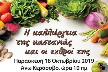 Ημερίδα στο Άνω Κεράσοβο για την καλλιέργεια της καστανιάς