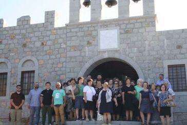 Προσκύνημα της ενορίας Αγίας Τριάδας Αγρινίου στην Πάτμο (φωτο)