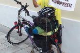 Ποδηλάτης διέσχισε την Αιτωλοακαρνανία με μήνυμα κατά των εξορύξεων