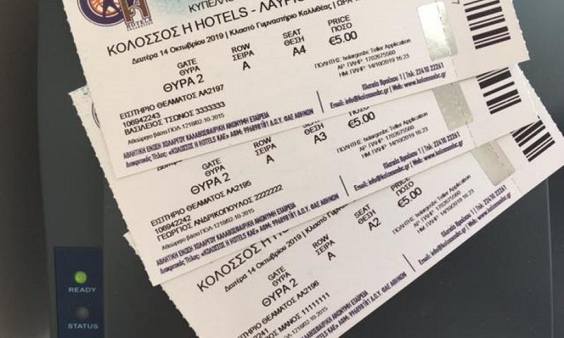 Οι διαιτητές του Κολοσσός-Λαύριο αγόρασαν εισιτήριο για τον μικρό Παναγιώτη-Ραφαήλ