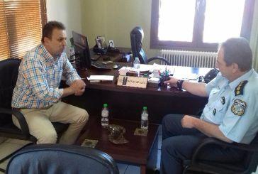 Εποικοδομητική συνάντηση του δημάρχου Αγράφων με τον Αστυνομικό Διευθυντή  Ευρυτανίας