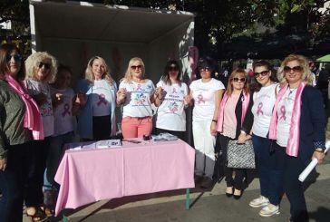 Δράσεις για την Παγκόσμια Ημέρα Κατά του Καρκίνου του Μαστού στο κέντρο του Αγρινίου (φωτο)