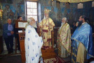Ο Μητροπολίτης κ. Κοσμάς στην Ιερά Μονή Δρυμοναρίου Φλωριάδας Βάλτου (φωτο)