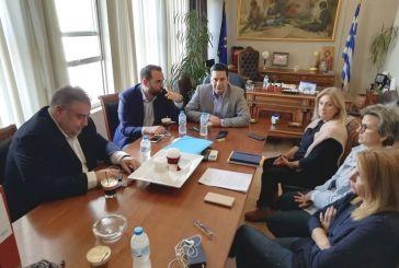 Συναντήσεις εργασίας του Περιφερειάρχη με τους δημάρχους Αγρινίου και Θέρμου