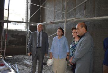 Ξεναγήθηκε στο -υπό κατασκευή -νέο Αρχαιολογικό Μουσείο Μεσολογγίου η Υπουργός Πολιτισμού