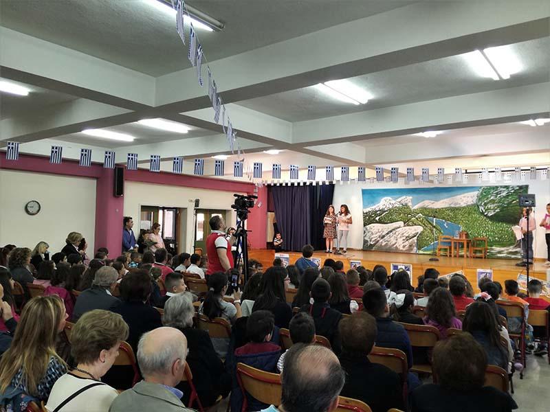 Το 3ο Δημοτικό Σχολείο Αγρινίου τίμησε και φέτος την επέτειο της 28ης Οκτωβρίου