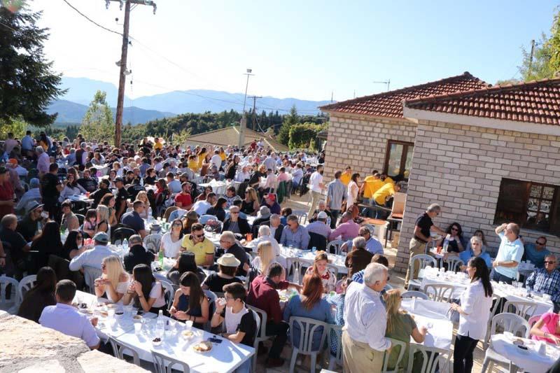 Γιορτή τσίπουρου στην Γρανίτσα Αγράφων (φωτο)