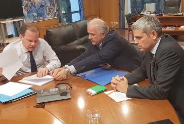 Τα θέματα υποδομών στη συνάντηση Καραγκούνη – Καραμανλή
