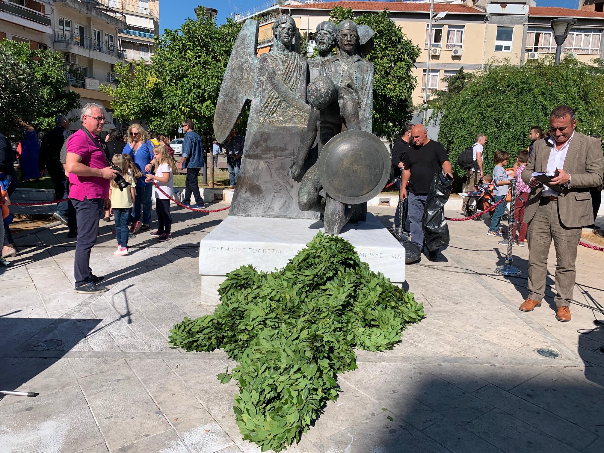 Με περιορισμούς ο εορτασμός της 28ης Οκτωβρίου στο Αγρίνιο- Το πρόγραμμα