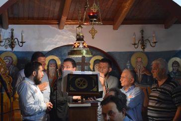 Εόρτασε τους προστάτες του το Ιερό Ησυχαστήριο Αγίων Κυπριανού και Ιουστίνης στο Παναιτώλιο (φωτο)