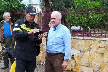 Ζημιές από την κακοκαιρία: Άμεσο το ενδιαφέρον του Υπουργού Εσωτερικών για το δήμο Μεσολογγίου