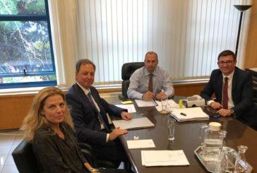 Τρία κρίσιμα ζητήματα της Αιτωλοακαρνανίας στη συνάντηση Λιβανού με τον Γ.Γ. Υποδομών