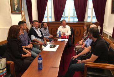Συνάντηση Σπήλιου Λιβανού με το Τοπικό Συμβούλιο Μεσολογγίου