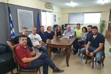 Συναντήσεις του Κώστα Λύρου με αθλητικά σωματεία του Δήμου Μεσολογγίου