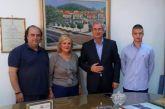 Εκπρόσωποι του ΜέΡΑ25 στον Δήμαρχο Θέρμου