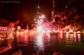 Eντυπωσιάζουν οι εικόνες της αναπαράστασης της Ναυμαχίας της Ναυπάκτου