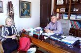 Εκπρόσωπος του ΜέΡΑ25 στον  δήμαρχο Ακτίου Βόνιτσας