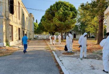 Kαθαρισμός του παλιού νοσοκομείου στο Μεσολόγγι μετά από 25 χρόνια