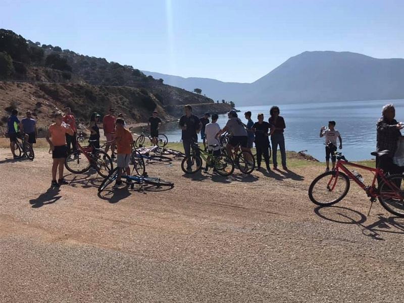 Με επιτυχία η ποδηλατική διαδρομή Πάλαιρος-Μύτικας (φωτο)