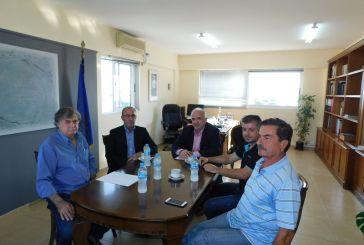 Συναντήθηκε με τον βουλευτή του ΚΚΕ ο Δήμαρχος  Μεσολογγίου