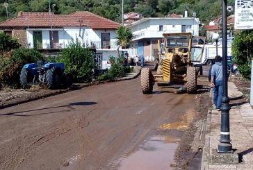 Ο Βουλευτής του ΚΚΕ Ν. Παπαναστάσης στις πληγείσες περιοχές των Οινιαδών