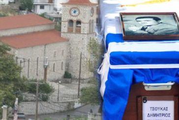Προτομή για τον ήρωα Δημήτρη Τσούκα στο Μοναστηράκι Βόνιτσας