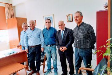 Συναντήσεις εργασίας του Π. Σακελλαρόπουλου στην Αιτωλοκαρνανία
