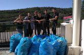 Εθελοντικός καθαρισμός στη Σαργιάδα από μέλη του τοπικού πολιτιστικού συλλόγου (φωτο)