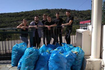 Εθελοντικός καθαρισμός στη Σαργιάδα