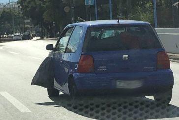 Απίστευτο κι όμως ελληνικό: Οδηγός έβγαλε βόλτα τα… σκουπίδια του