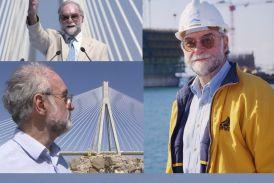 Αυλαία για τον Ζαν-Πωλ Τεσαντιέ, «πατέρα» της Γέφυρας «Χαρίλαος Τρικούπης»