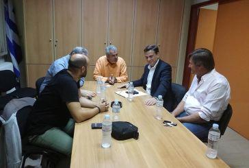Θάνος Μωραΐτης στο Εργατικό Κέντρο Μεσολογγίου: «Η κυβέρνηση εντείνει την επίθεση στον κόσμο της εργασίας»